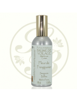 Brume de voilage - Fleur de frangipanier - 100 ml - Savonnerie de Bormes