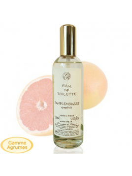 EAU de toilette - Grapefruit  - 100 ml - Savonnerie de Bormes