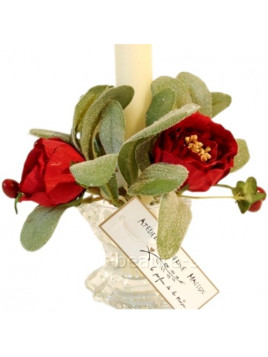 Decoration for candle - Christmas model - Masson