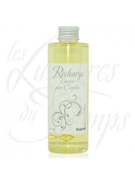 Recharge diffuseur parfum Bergamote -200 ml - Les Lumières du temps