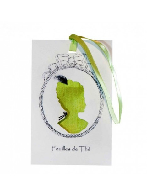 Scented sachet cameo tea leaves catherine masson for Catherine masson