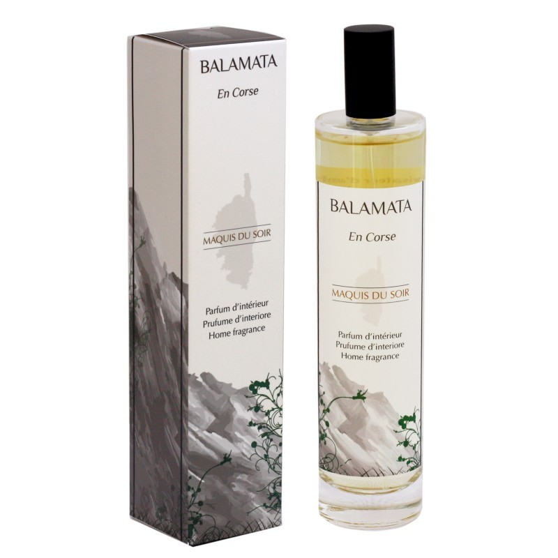 parfum d 39 int rieur maquis du soir 100 ml balamata comptoir beaut sant. Black Bedroom Furniture Sets. Home Design Ideas