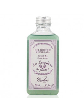 """Гель душ на эссенциальных маслах лаванды """" Les Lavandières en Provence"""" - 200 ml - Nicolosi créations"""