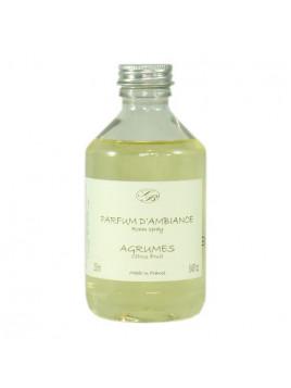 Recharge diffuseur de parfum - Agrumes - 250 ml - Savonnerie de Bormes