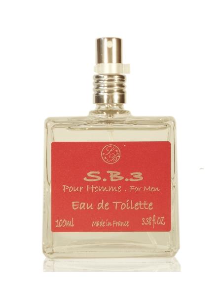 Eau de toilette for men - S.B.3 - 100 ml - Savonnerie de Bormes