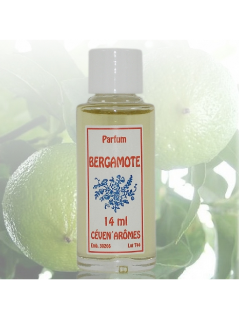 Fragrance extracts for home diffusers  - 14 ml - Bergamot - CevenArômes