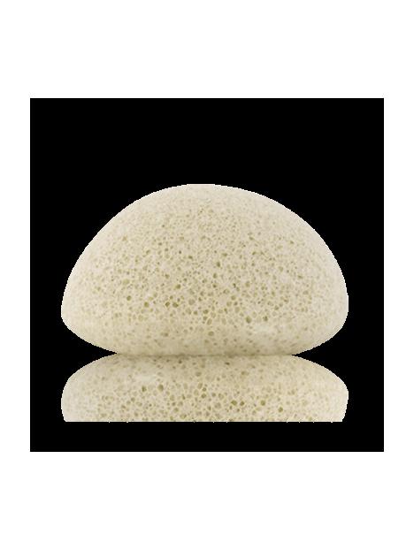 Facial puff sponge 100% pur Konjac with bamboo charcoal - oily & spot prone skin - Konjac Sponge Co.