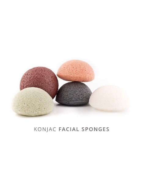 Eponge Konjac à l'argile rose française - peaux fatiguées et dévitalisées - Konjac Sponge Co.