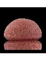 Eponge Konjac à l'argile rouge française - peaux sèches & sensibles - Konjac Sponge Co.