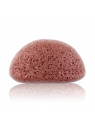 Facial puff sponge 100% pur Konjac with nourishing mineral rich french pink clay - tired & devitalized skin - Konjac Sponge Co.
