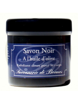 Black african soap with argan oil - Savonnerie de Bormes