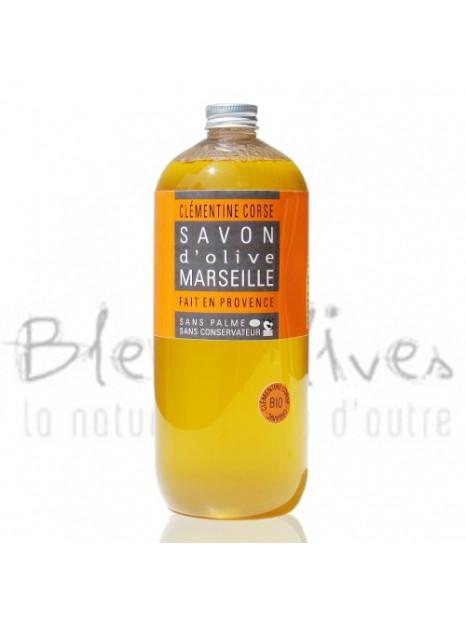 Organic Shower gel Corsican Clementine - 1.0 L – Tomelea