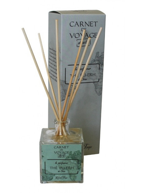 Perfume diffuser Tea Pu-Erh of Chine  - 100 ml - Les Lumières du Temps