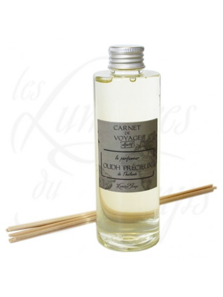 Refill perfume for diffuser Oudh Wood of Thailand  - 200 ml - les Lumières du Temps