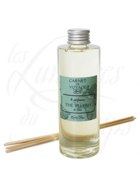 Recharge parfum Thé Pu-Erh de Chine - 200 ml - les Lumières du Temps