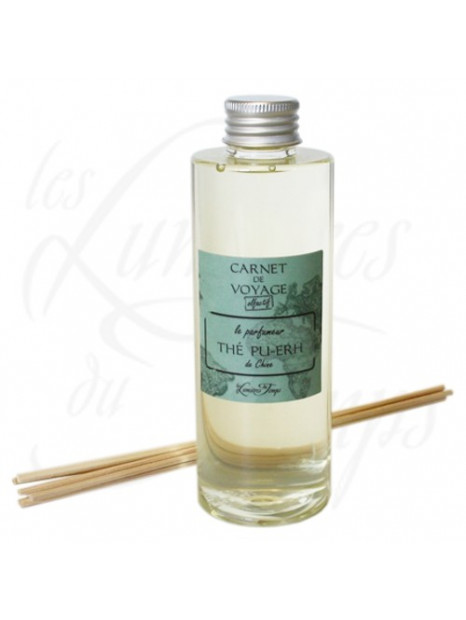 Refill perfume for diffuser Pu-Erh Tea of Chine  - 200 ml - les Lumières du Temps