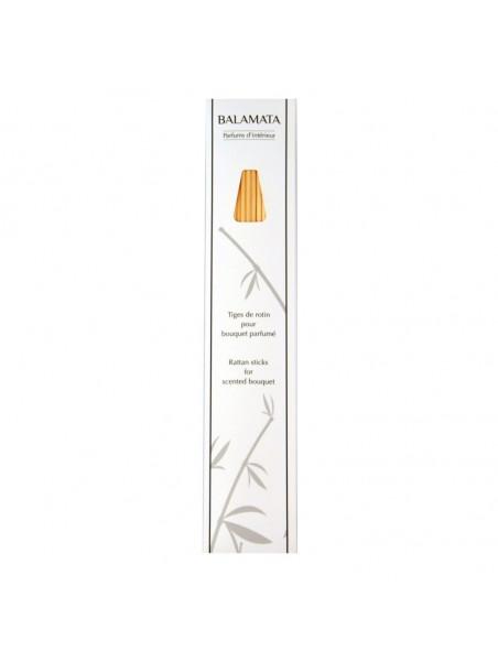 Rattan sticks for Balamata scented bouquet - 22 cm