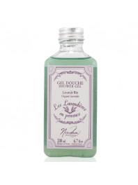 Organic  shower gel  with lavander oil