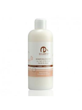 Shampoing douche au lait d'ânesse karité & argan - 400 ml - Eclarité
