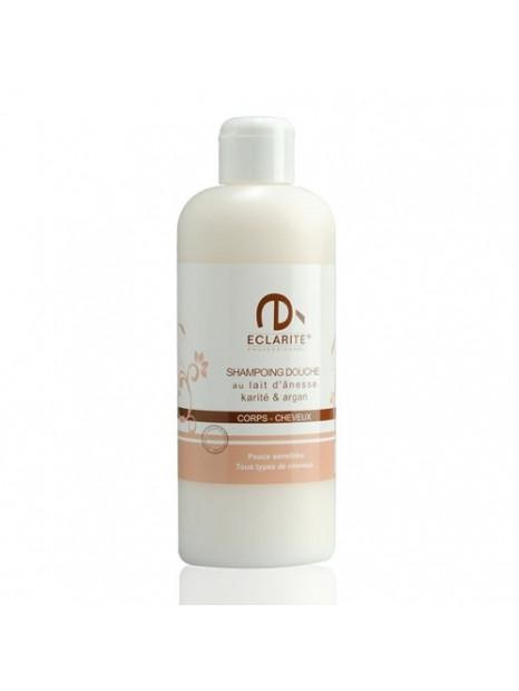 Shower & shampoo - donkey milk Shea & Argan - 400 ml - Eclarité
