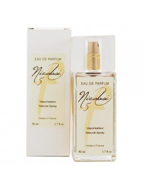 Eau de parfum  Nicolosi parfum F5 - 50 ml - Nicolosi Créations