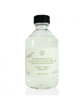 Shampooing aux HE - Thé Vert - 250 ml - Savonnerie de Bormes