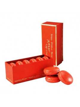 Boîte 6 savons macarons parfumés Epices  - Catherine Masson
