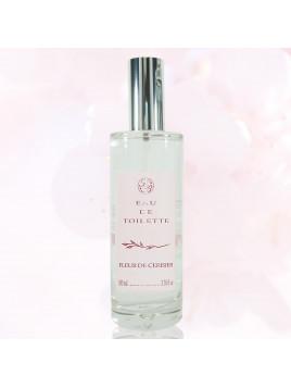 EAU de toilette - Cherry flower - 100 ml  - Savonnerie de Bo