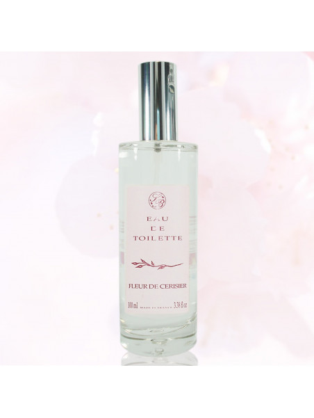 Eau de toilette - Fleur de Cerisier - 100 ml - Savonnerie de Bormes