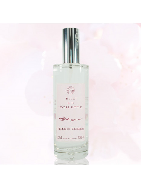 EAU de toilette - Cherry flower - 100 ml  - Savonnerie de Bo