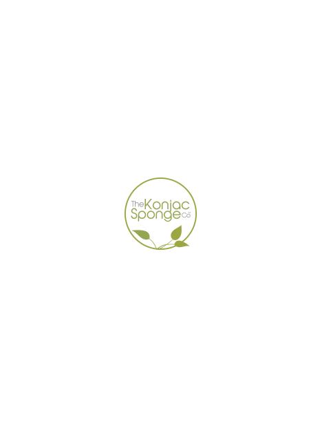 Éponge Konjac 100% fibre végétale naturelle avec thé vert- peaux matures - Konjac Sponge Co.