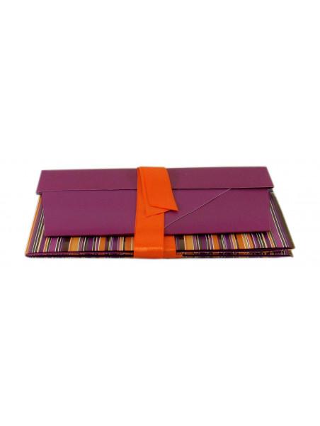 Coffret violet vide