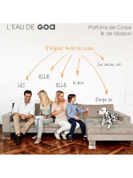 Perfume body & home, universal  by GOA - orange  - 250 ml