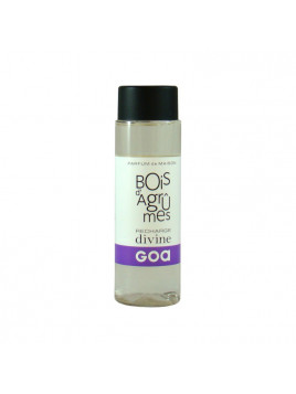 Recharge parfum diffuseur Divine - Bois d'agrumes - 200 ml - Goa