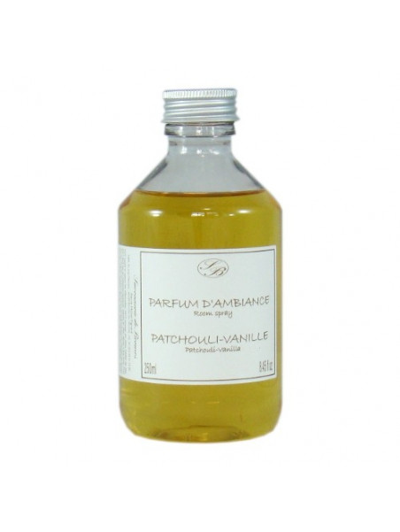 Recharge of perfume for Aromatic rattan stick diffuser - Patchouli vanilla - 250ml - Savonnerie de Bormes