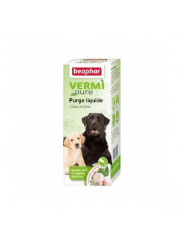 VERMIFUGE naturel pour chien en pipettes / Purge aux plantes de Beaphar Vetonature