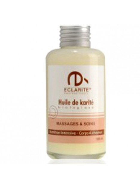 Oil massage and care, organic Shea - Eclarité
