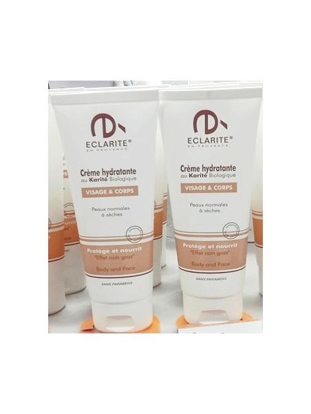 Moisturizer organic Shea cream - Eclarité
