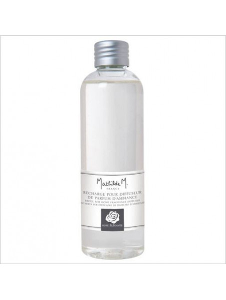 Refiller for fragrance diffuser 180ml  fragrance Elegant rose  - Mathilde M.