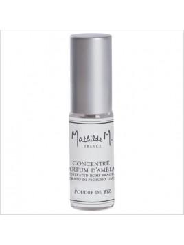 Concentré de parfum mini spray - Poudre de Riz - 5 ml - Mathilde M.