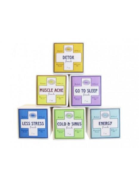 Pack 6 Cubes Bain Pétillants