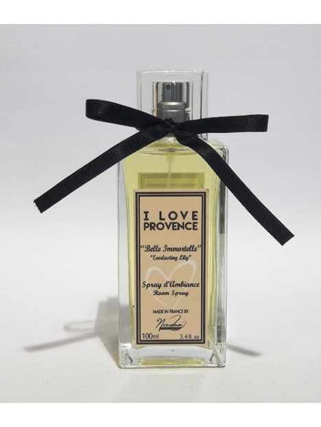 Parfum d'ambiance I Love Provence - Belle immortelle - 100ml - Nicolosi créations