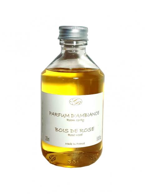 recharge diffuseur parfum bois de rose 250 ml savonnerie de bormes. Black Bedroom Furniture Sets. Home Design Ideas