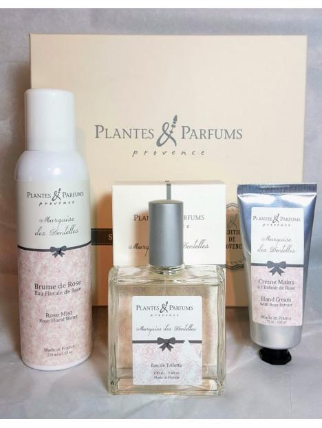 coffret marquise des dentelles plantes parfums de provence. Black Bedroom Furniture Sets. Home Design Ideas