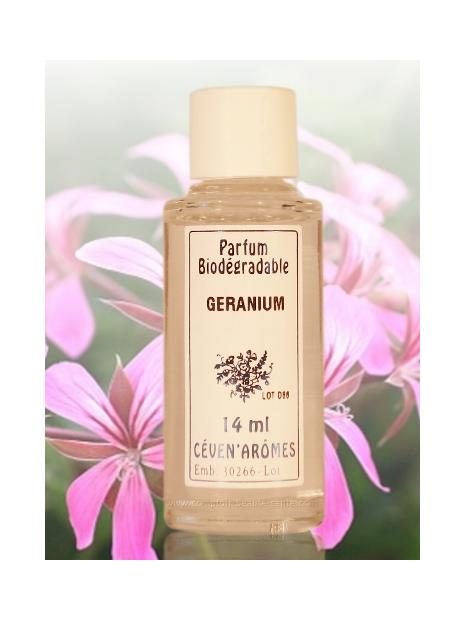 Extrait Parfum d'ambiance - 14 ml - Géranium - Ceven'Arômes
