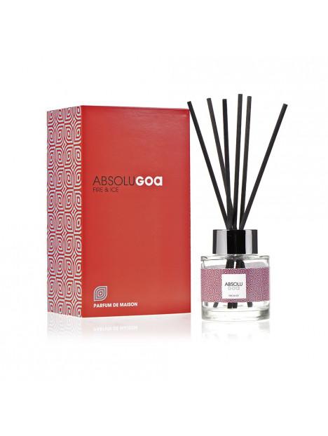 Diffuseur de parfum Goatier Absolu, parfum fire et ice. collection Goa parfum maison.