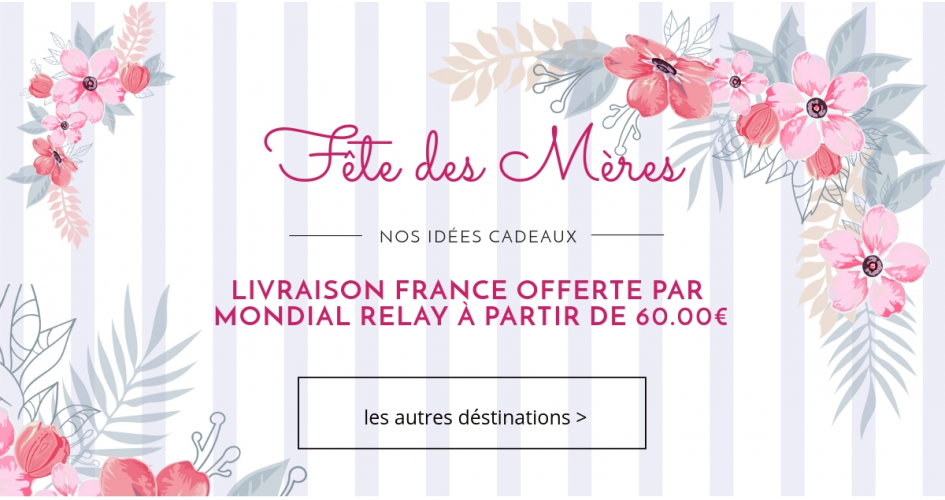 Comptoir-beaute-sante.com vous offre la livraison pour La Fête des Mères!